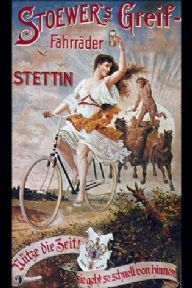 Vintage Polish bicycle advertisement